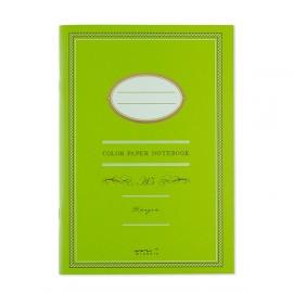 Midori Color Paper Notebook