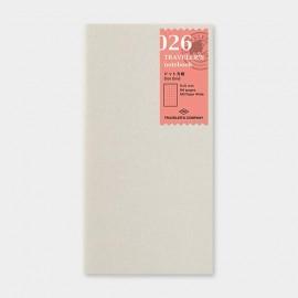 Wkład do Traveler's  Notebook 026: Notes w kropki