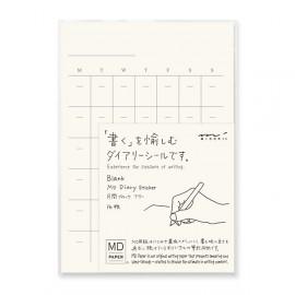 Naklejki MD Paper z kalendarzem wiecznym