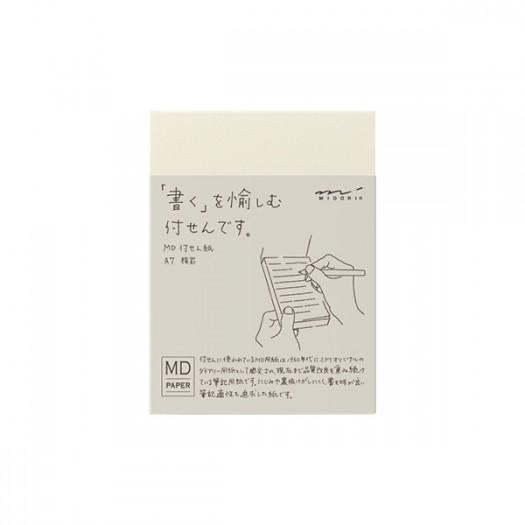 MD Sticky Memo Pad A7 (Linie)