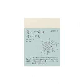 MD Sticky Memo Pad A7 (Grid)