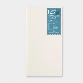 Traveler's Notebook 027 Refill PREORDER