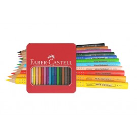 Faber-Castell Jumbo Grip 16 pieces