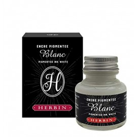 Tusz do kaligrafii J. Herbin Encre Pigmentee Biały 30 ml