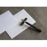 Ystudio Resin Fountain Pen Black PREORDER