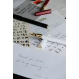 Ystudio Resin Fountain Pen White PREORDER