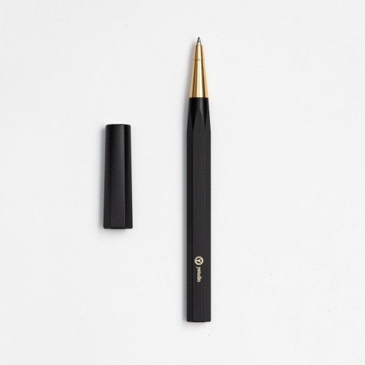 Ystudio Resin Rollerball Pen Black PREORDER