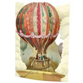 Kartka okolicznościowa Santoro Pop-Up Swing Card Balon