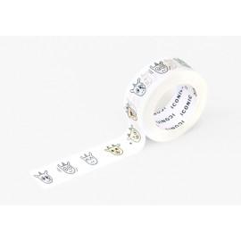 Taśma ICONIC Masking Tape Emoticon