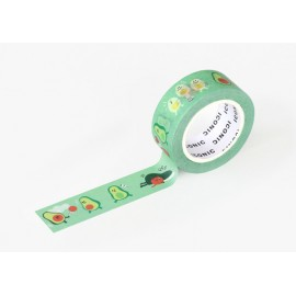 Taśma ICONIC Masking Tape Avocado