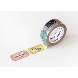 ICONIC Masking Tape Ticket