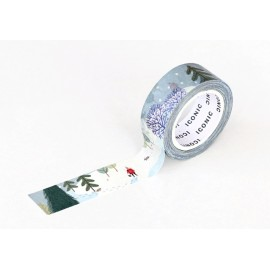 Taśma ICONIC Masking Tape Winter Forest