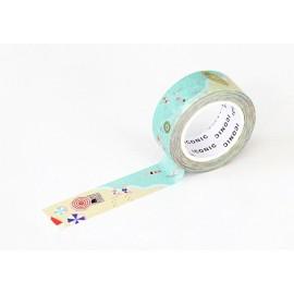 ICONIC Masking Tape  Summer Beach