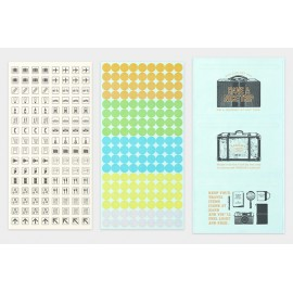 Customized Sticker Set for Traveler's Notebook Diary 2020