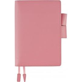 Kalendarz Hobonichi Techo Planner 2020 Sweet Pink w skórzanej okładce