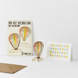 Kartka Pop Out Decoration Balon