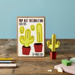 Pop Out Decoration Card Cactus