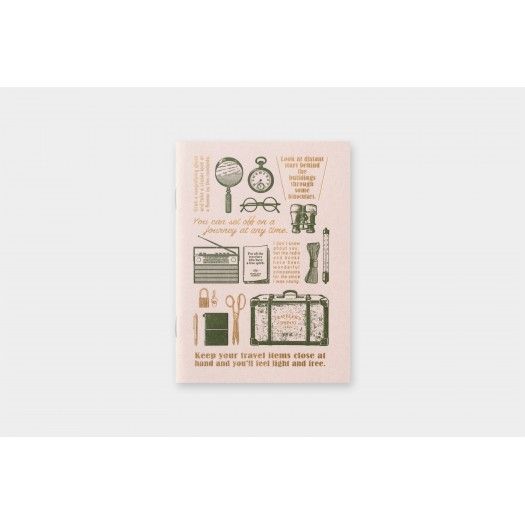 Travel Tool Collection Passport Size Refill Limited Edition