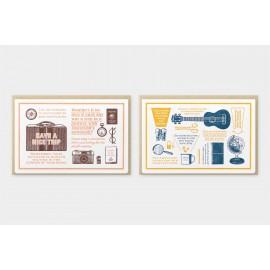 Travel Tools Collection Kartki Letterpress Cards Edycja Limitowana