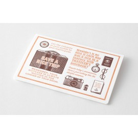 Travel Tool Collection LLetterpress Cards Limited Edition