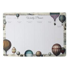 Bomo Art Weekly Desk Planner