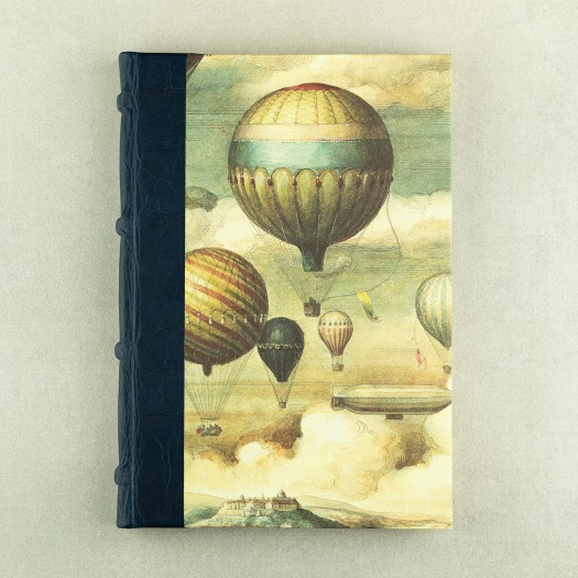 Notatnik Bomo Art Half Leather Bound Journal