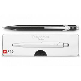 Długopis Caran D'Ache 849  Popline Metaliczny Czarny