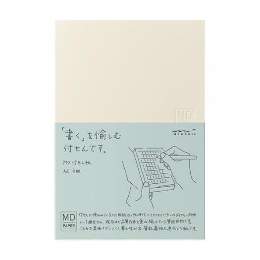 MD Sticky Memo Pad A6 (Grid)
