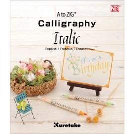 Kuretake Zig Calligraphy Italic Book