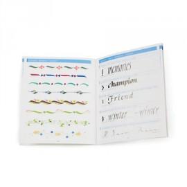 Kuretake książeczka do kaligrafii Zig Calligraphy Italic Book