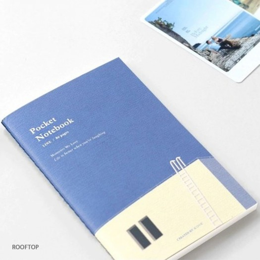 Notatnik ICONIC Pocket Notebook Linie