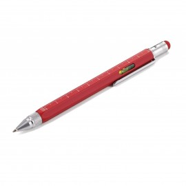 Długopis Troika Construction Czerwony