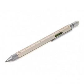 Długopis Troika Construction Białe Złoto