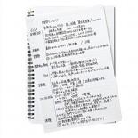Notatnik Maruman Mnemosyne A5 Inspiration Notepad