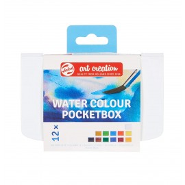 Farby akwarelowe Talens Art Creation Watercolour Pocketbox 12 sztuk