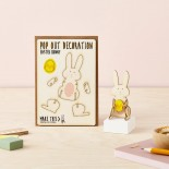 Pop Out Card Decoration Easter Bunny
