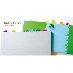 Midori Index Label Naklejki