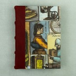 Bomo Art Leather Bound Box Note Block