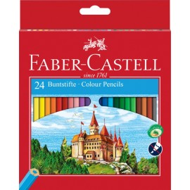 Faber-Castell Classic Colour Pencil 24 pieces
