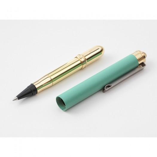 TRC BRASS Rollerball Pen Factory Green PREORDER