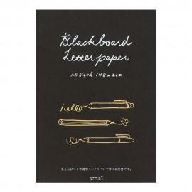 Papier listowy Midori Blackboard Letter Paper