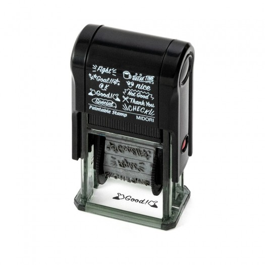 Midori Paintable Stamp Message