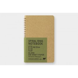 TRC Spiral Ring Notebook DW Kraft A6 Slim