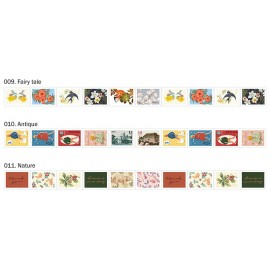 Taśma ICONIC Stamp Masking Tape Vintage