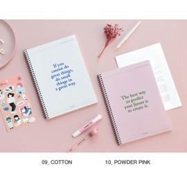 ICONIC Basic Notebook Plain