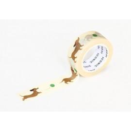 ICONIC Masking Tape Dachshund