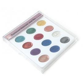 Kuretake Zig  Pearlescent Watercolor Jewel Box
