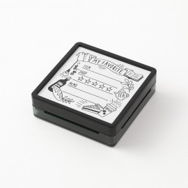 Midori Paintable Stamp Pre-inked My Favourite