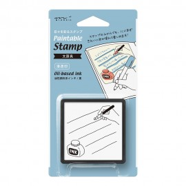 Pięczątka Midori Paintable Stamp Pre-inked Stationey