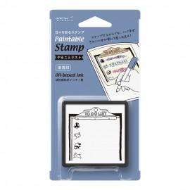 Pięczątka Midori Paintable Stamp Pre-inked To Do List